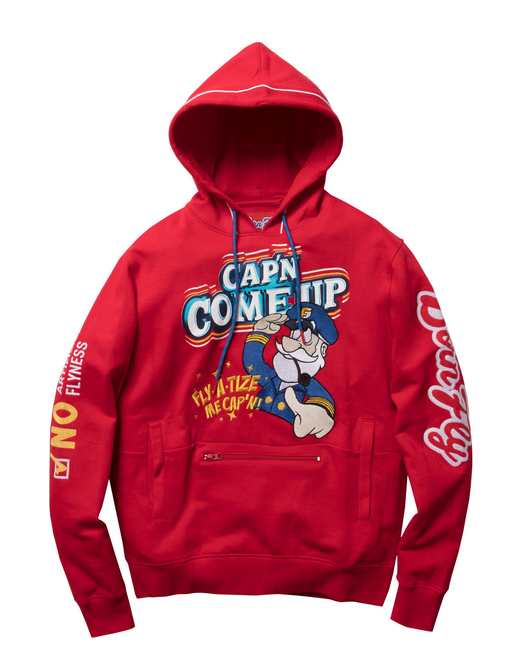 Cap'N Fleece Hoody