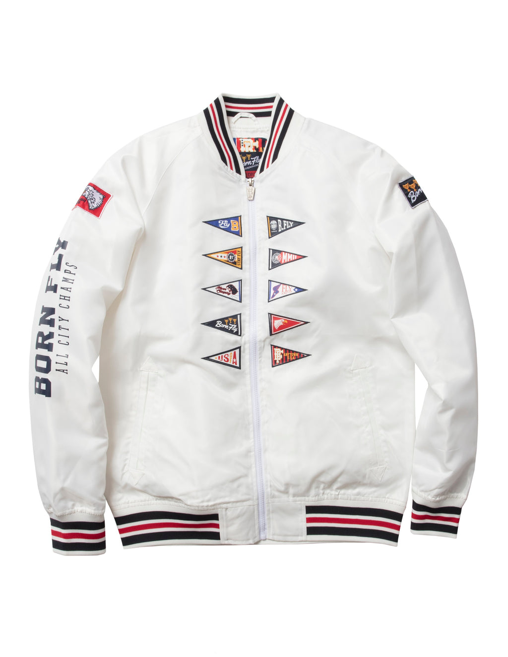 New School Nylon Jacket