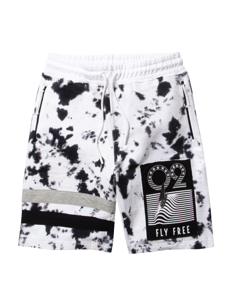 Miami Port Tie Dye Sweatshort