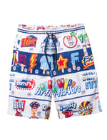 Big & Tall Swirl Printed Sweatshort