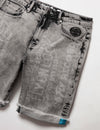 Big & Tall Cheque Denim Short