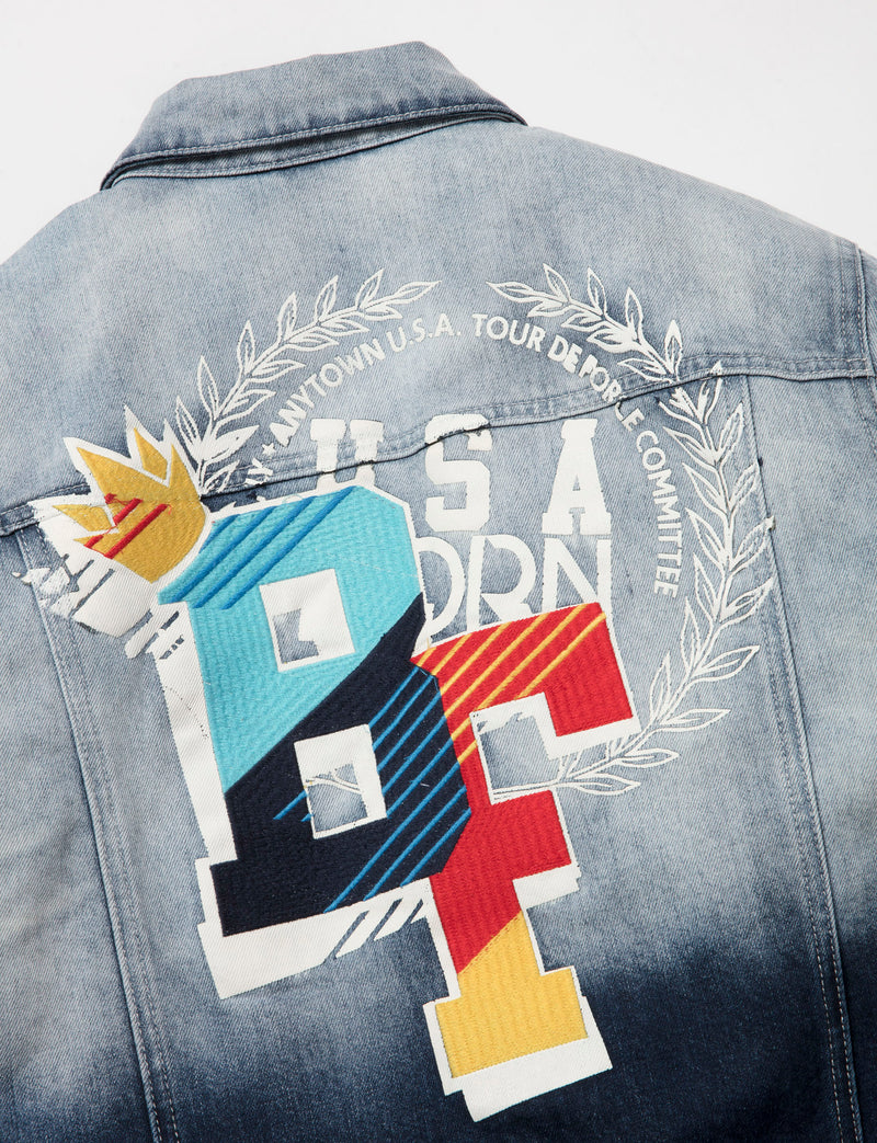 Big & Tall - Contador Denim Jacket