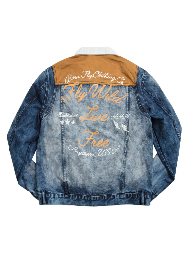 Whale Denim Jacket