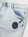 Flamingo Denim Short