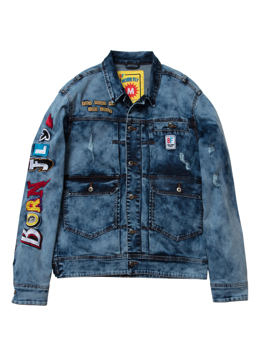 Big & Tall - Kerplunk Denim Jacket