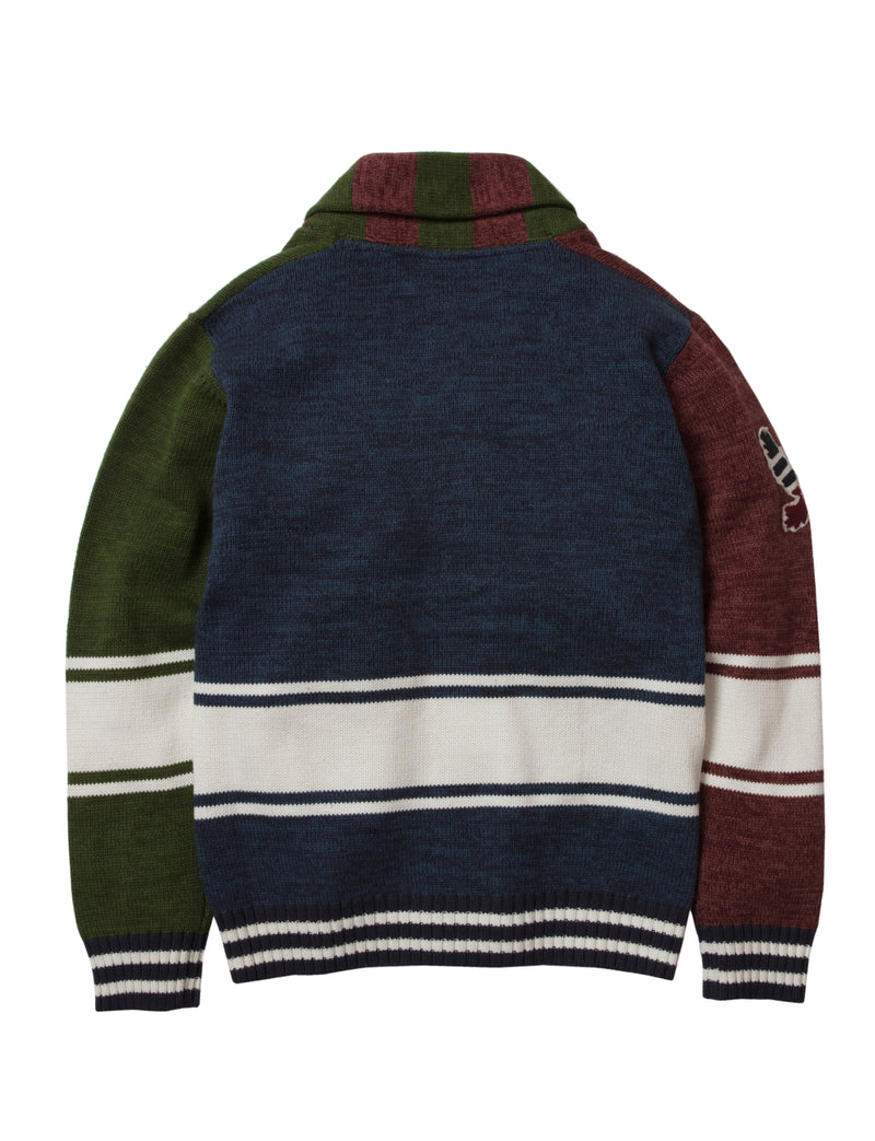 Race Cardigan Sweater