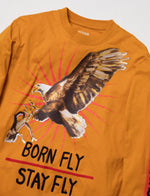 Eagle Embroidered Ls Tee