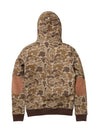 Big & Tall - Trees  Camo Popover Hoody
