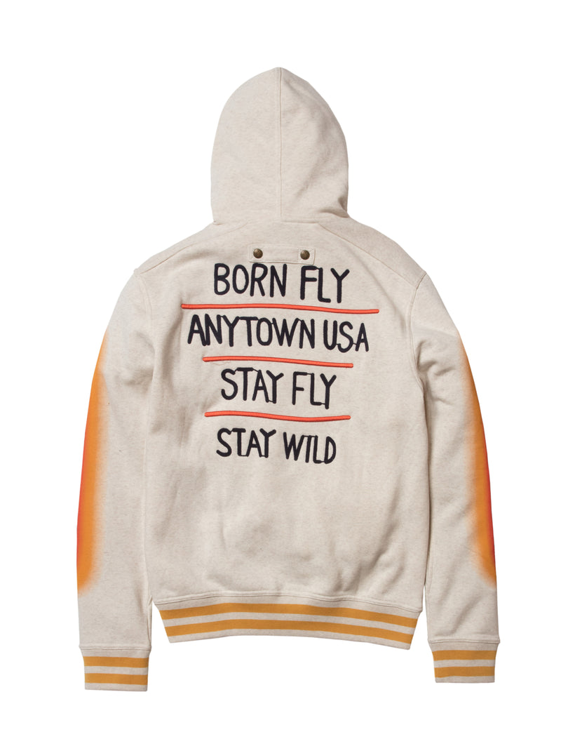 Big & Tall - Wild Embroidered Hoody
