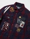 Big & Tall - Crest Lined Woven Shirt Jacket