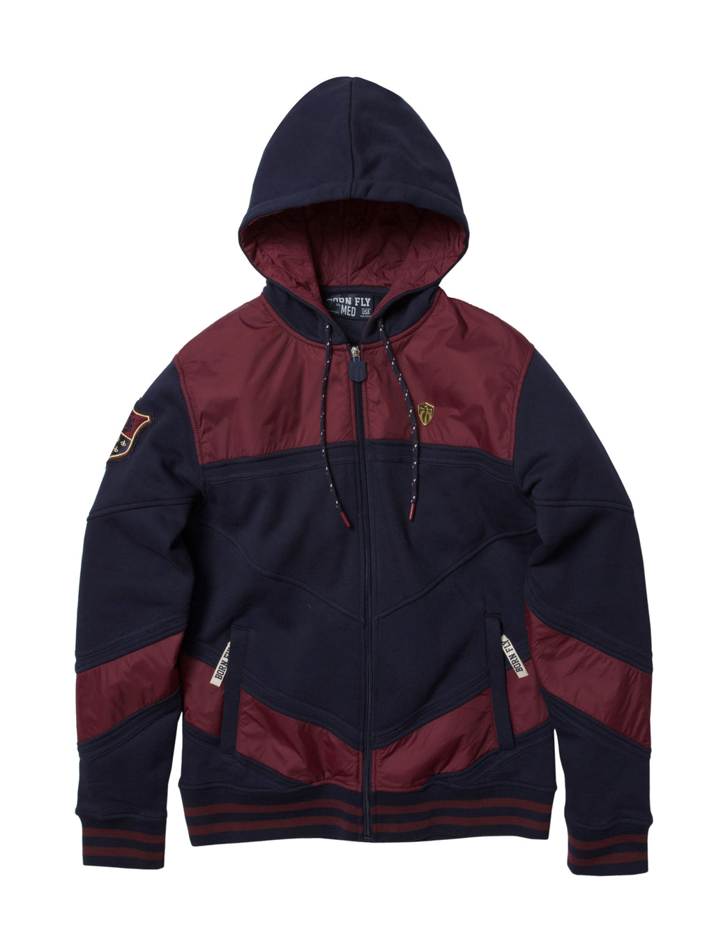 Big & Tall - Inheritance Zip Front Hoody