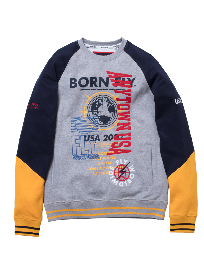 Big & Tall - Berlin Crew Neck Sweat Shirt