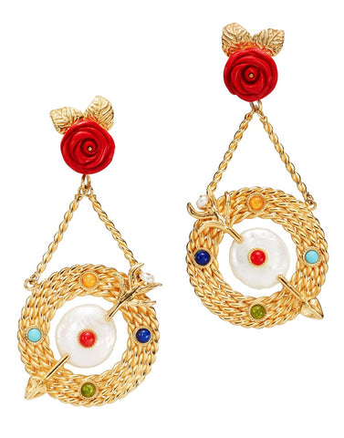 Bull's-Eye Earrings