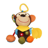 Abu the Monkey Teether & Plush Toy | Relief from Teething Pain | Perfect for Stroller, Baby Carriage, Crib, Car Seat | Infants, Babies & Toddlers - 100 Hot Money Saving Deals