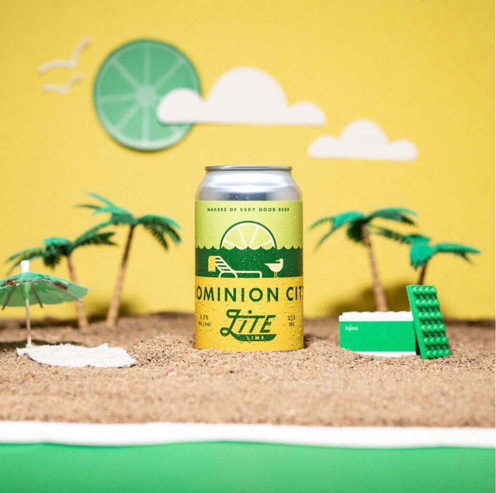 Dominion City- Lite Lime (4 pack)