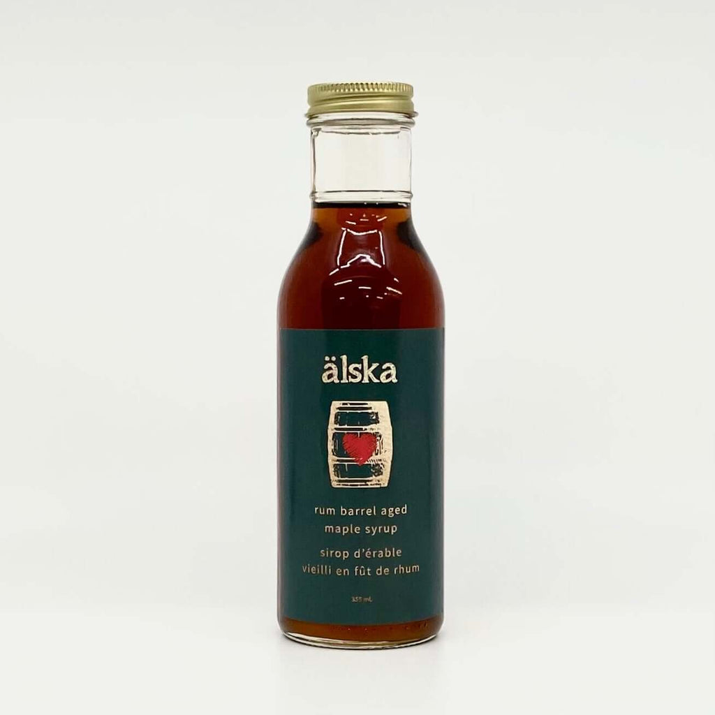 Alska Farm-Rum Barrel Aged Maple Syrup 355mL