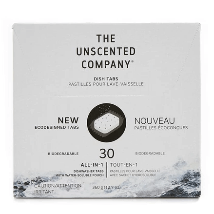 THE UNSCENTED COMPANY - Dishwasher Tabs (30)