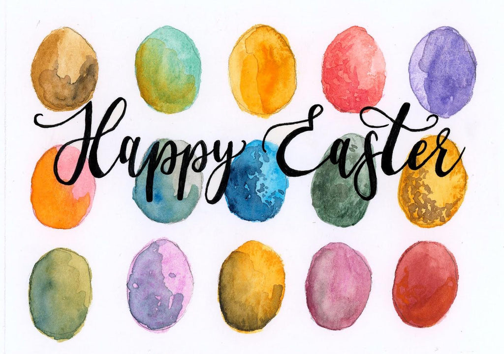 "Wild Juniper - ""Happy Easter Eggs"" Card"