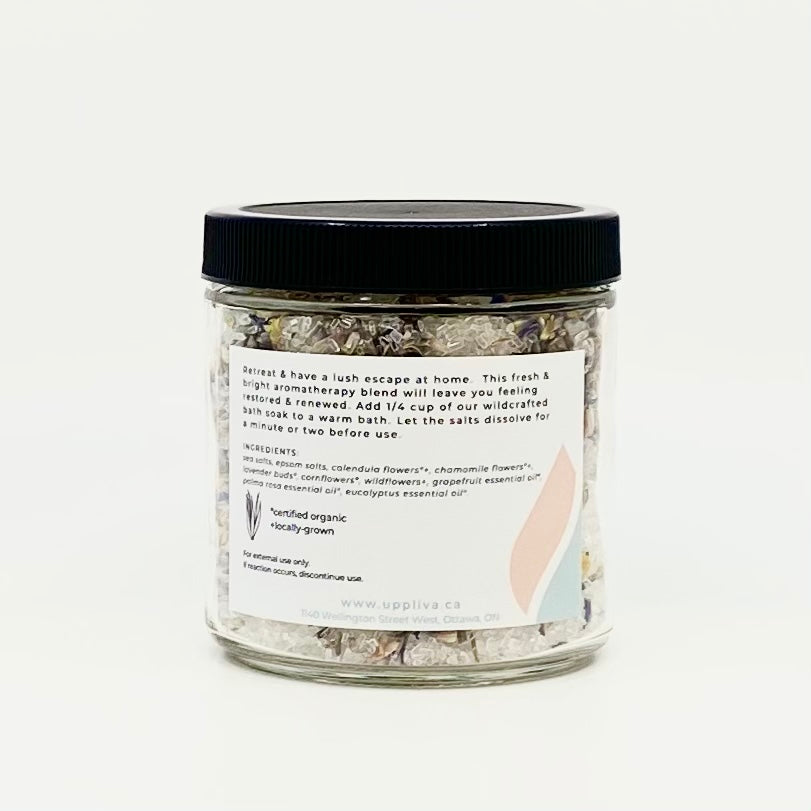 UPPLIVA Wildcrafted- RETREAT Bath Soak