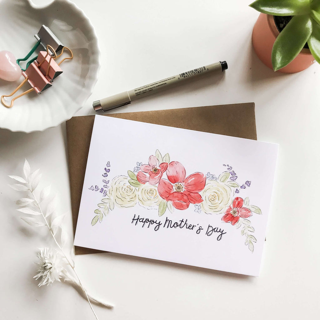"A Bloom Made- ""Happy Mother's Day"" Card"