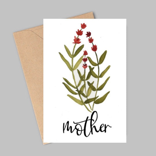 "Wild Juniper - ""Mother"" Card"