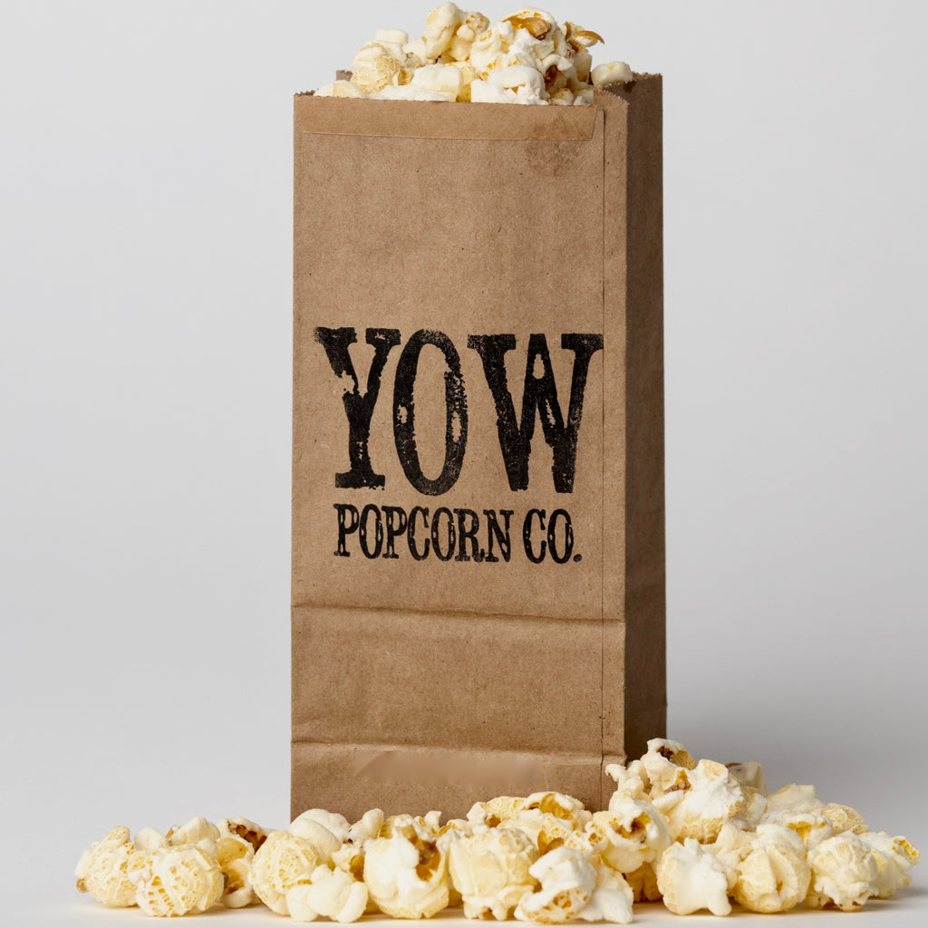 YOW Popcorn Co.- White Cheddar (Medium Bag)