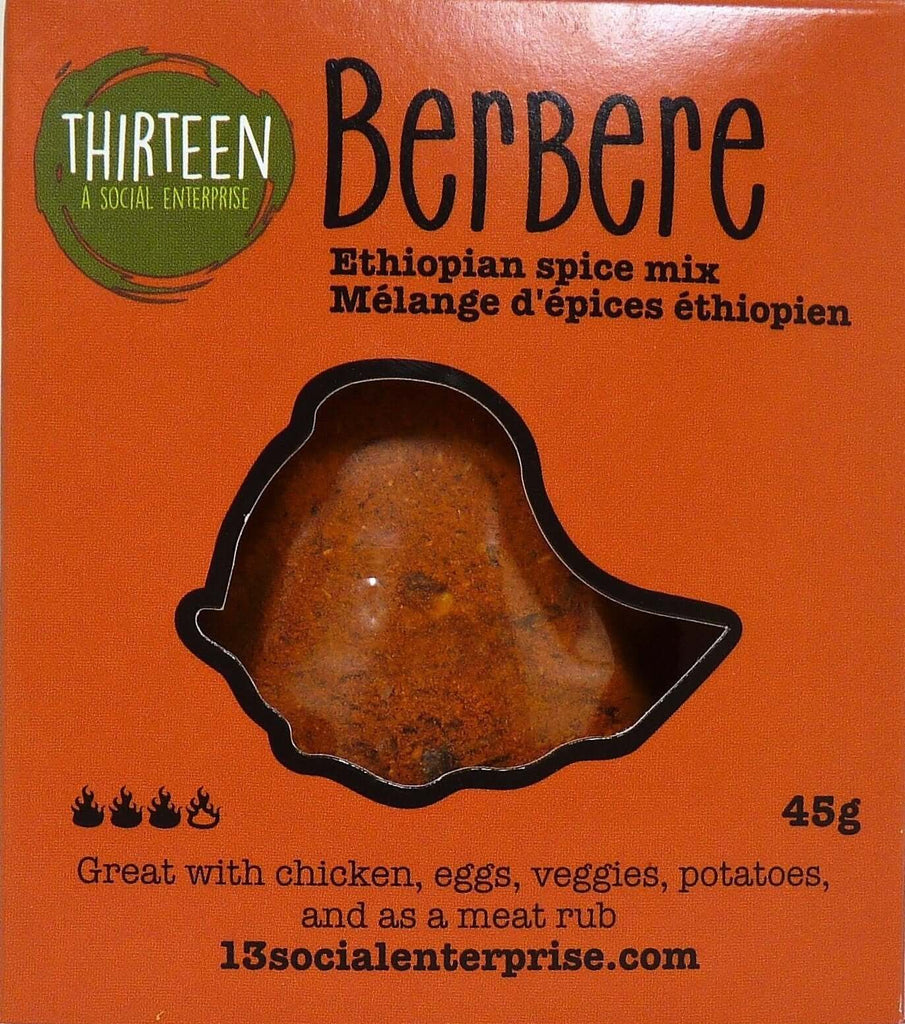 Thirteen A Social Enterprise- Berbere Ethiopian Spice Mix