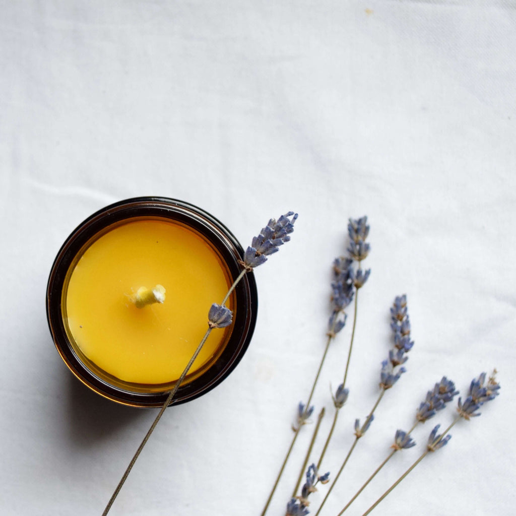 The Wax Studio- Lavender Jar Candle