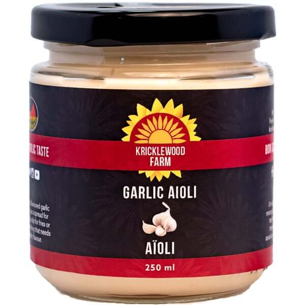 Kricklewood Farm- Vegan Garlic Aioli 250mL