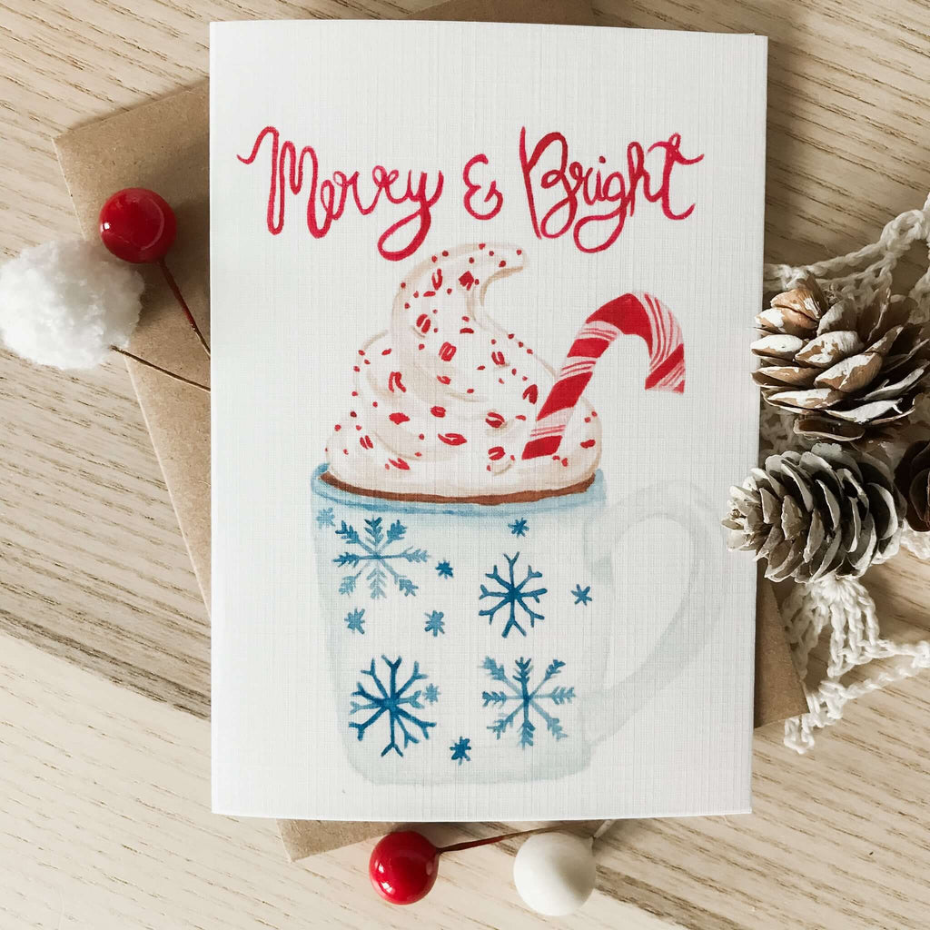 "A Bloom Made- ""Merry & Bright"" Holiday Card"
