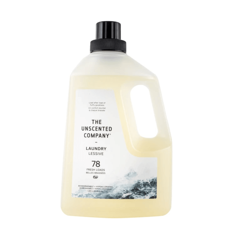 THE UNSCENTED COMPANY - Laundry Detergent (1.95 / 78 Loads)