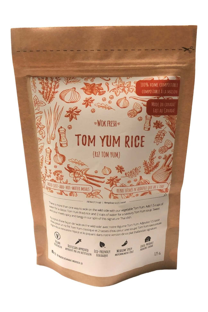 Backcountry wok- Tom Yum Rice 125g (meal size)