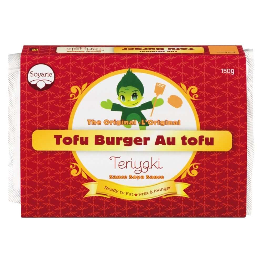Soyarie- Teriyaki Tofu Burgers (4 patties)