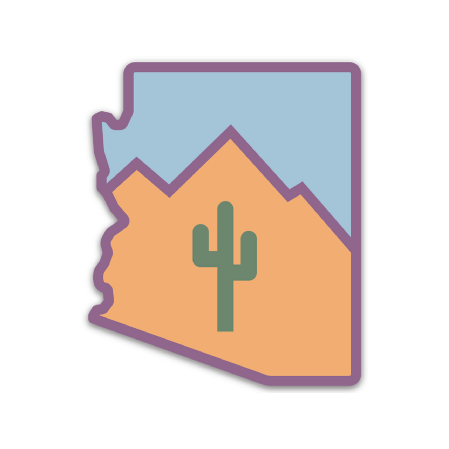 Arizona [Sticker] - CoLab. Print