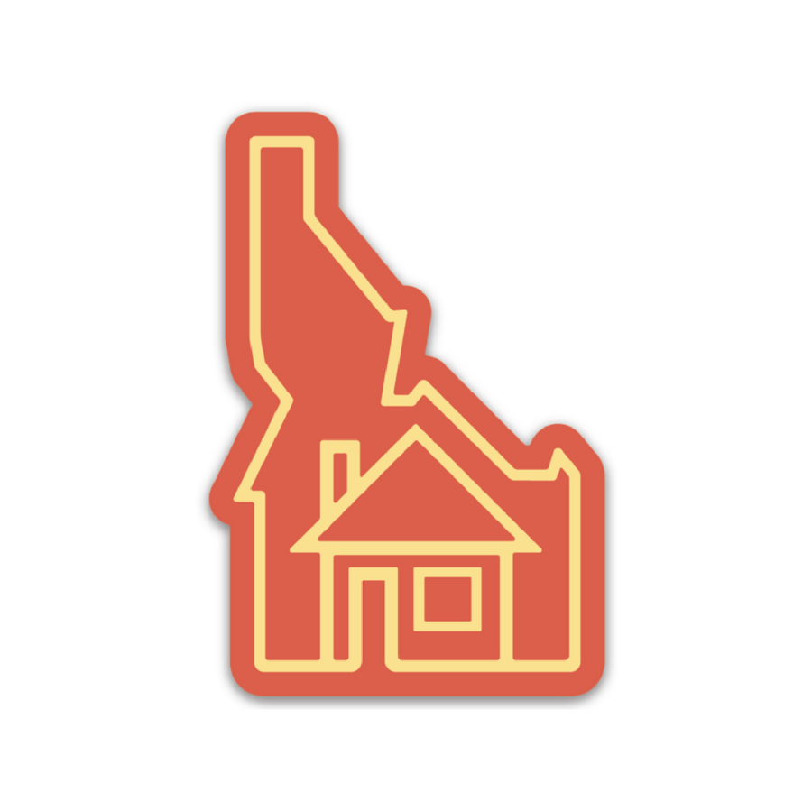 Idaho is Home [Sticker] - CoLab. Print