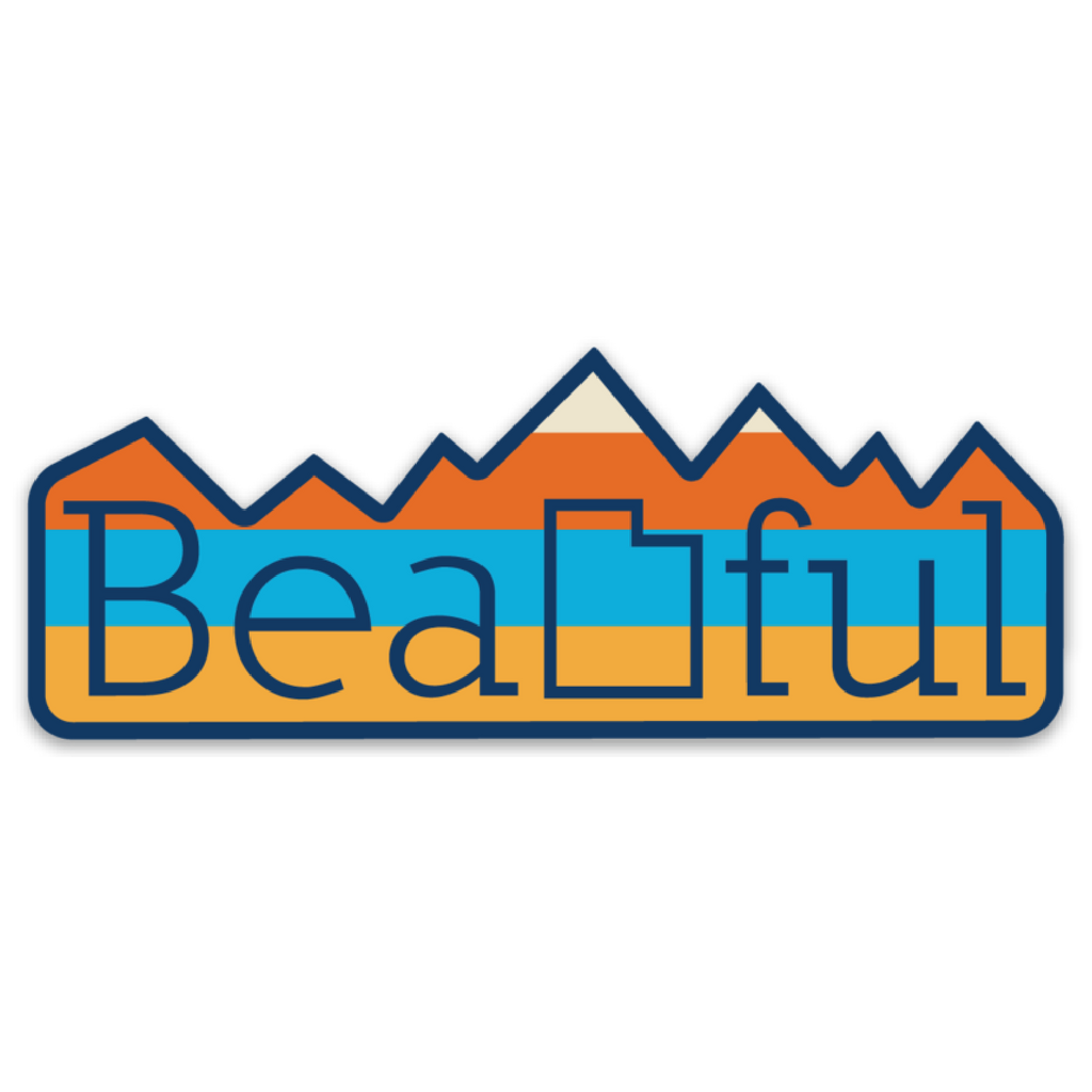 BeaUTAHful Mountains [Sticker]