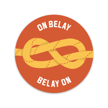 On Belay [Sticker] - CoLab. Print