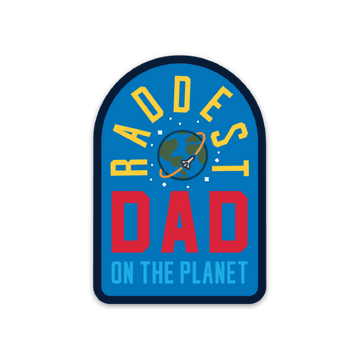 Rad Dad [Sticker] - CoLab. Print