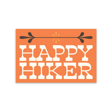 Happy Hiker [Sticker] - CoLab. Print