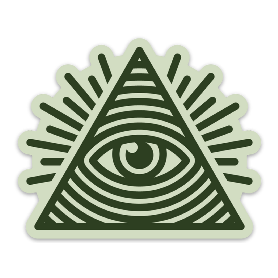 Illuminati [Sticker] - CoLab. Print