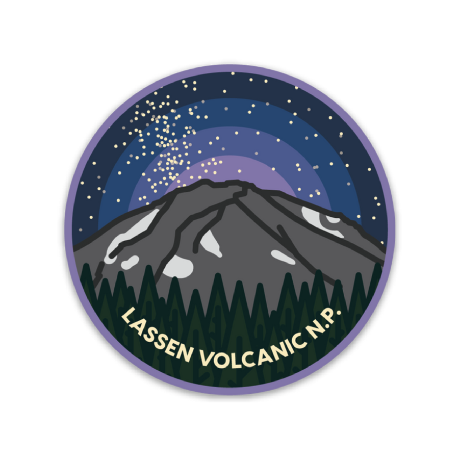 Lassen Volcanic National Park [Sticker] - CoLab. Print