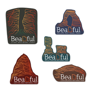 Utah National Park Stickers