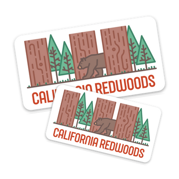 California Redwoods [Sticker]