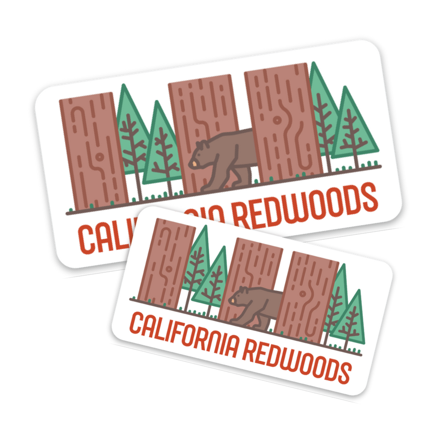 California Redwoods [Sticker] - CoLab. Print