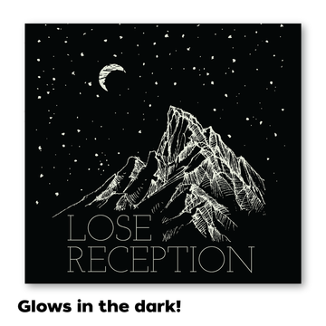 Lose Reception - Glow in the Dark [Sticker]