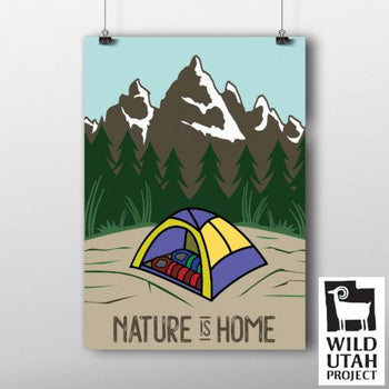 """Nature is Home"" Digital Poster"
