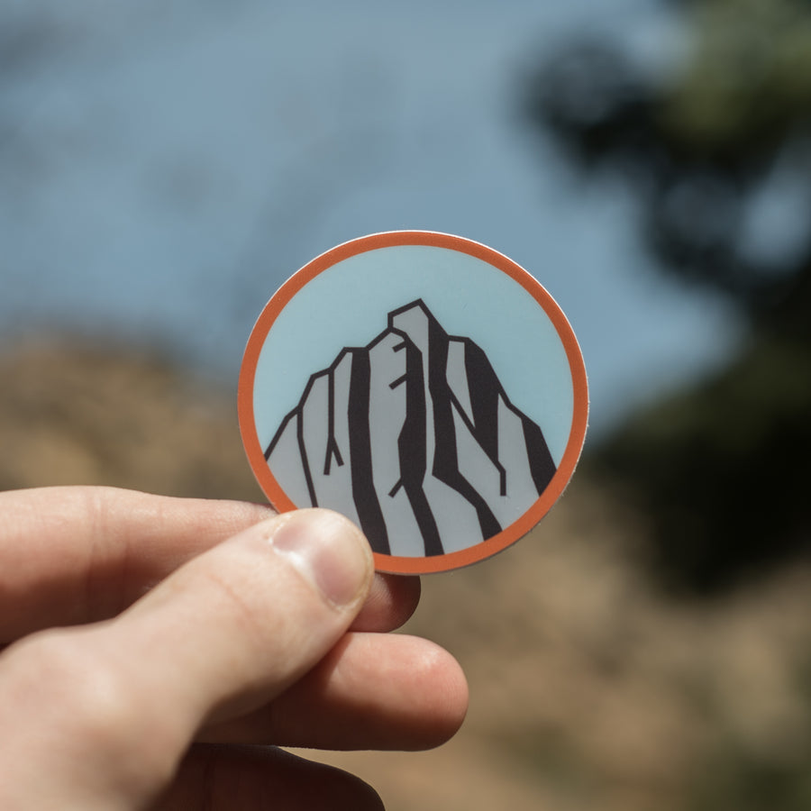 Lone Peak [Sticker] - CoLab. Print