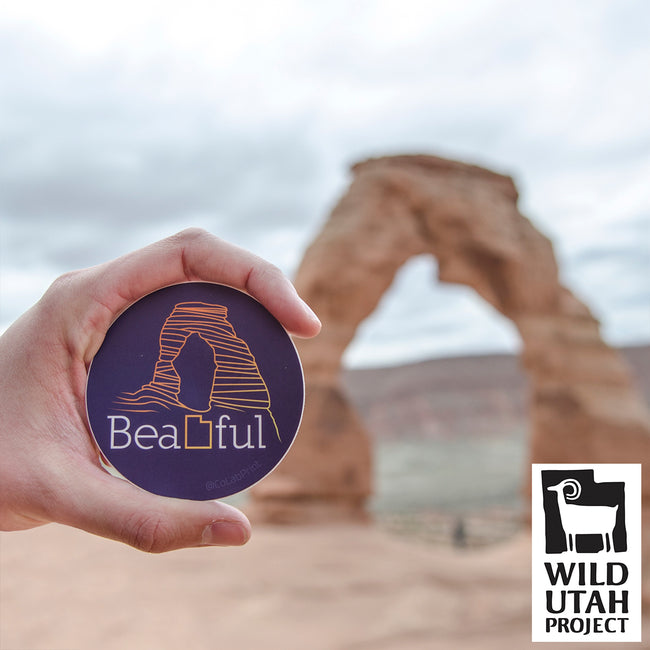 BeaUTAHful Arch [Sticker]