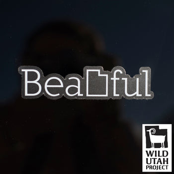 BeaUTAHful Clear [Sticker]