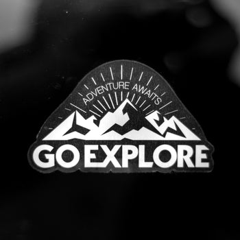 Go Explore Clear [Sticker]